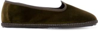 Vibi Venezia 10mm Velvet Loafers