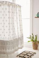 Plum & Bow Bessum Stamped Shower Curtain