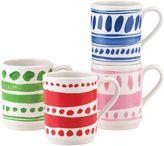 Kate Spade All in Good Taste Pretty Pantry Stacking Mugs (Set of 4)