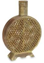 Bed Bath & Beyond Nearly Natural Open Weave Decorative Vase