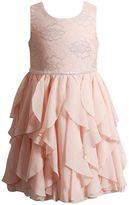 Youngland Girls 4-6x Lace Waterfall Skirt Dress