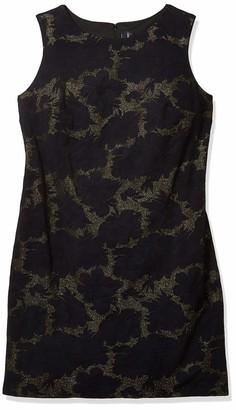 Julia Jordan Women's Plus Size Sleeveless Floral Printed Sheath