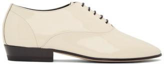 Saint Laurent Off-White Patent Marius Oxfords