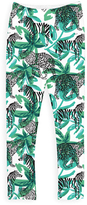 Urban Smalls Green Tropical Safari Leggings - Toddler & Girls