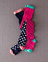 Boden 2 Pack Patterned Tights