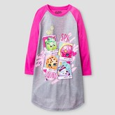 Shopkins Girls Shopkins Nightgown - Pink S (6-6X)