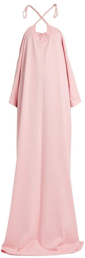 Vetements X Hanes logo-print cotton-jersey maxi dress