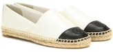 Tory Burch Leather Espadrilles
