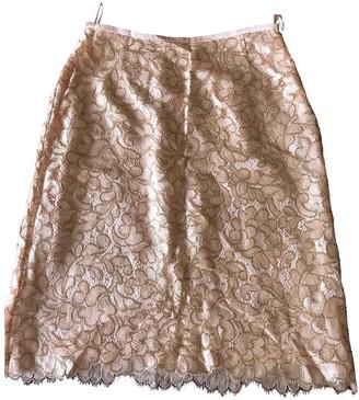 Escada Orange Silk Skirt for Women