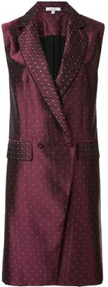 LAYEUR classic dotted vest
