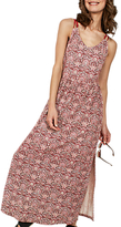 Fat Face Lily Indian Summer Maxi Dress, Rustic Red