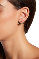 Gorjana Mika Shimmer Statement Ear Jacket Earrings