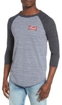 O'Neill Men's Brewer Raglan Baseball T-Shirt