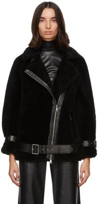 Stand Studio Black Wool Colleen Jacket