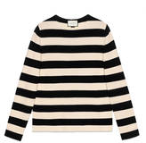 Gucci Striped cotton crew neck