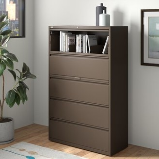 Lorell Fortress 4-Drawer Vertical Filing Cabinet