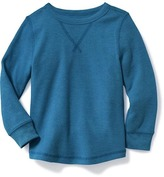 Old Navy Thermal Crew-Neck Tee for Toddler Boys