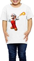 Aip-Yep Kids Boy's & Girl's Super Mario Funny Tshirts