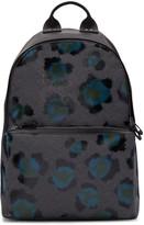 Kenzo Black Leopard Backpack