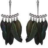 Alexis Bittar Pearl And Feather Chandelier Clip Earring