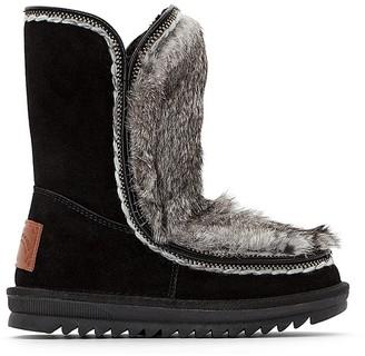 Les Tropéziennes Joana Fur-Lined Leather Boots