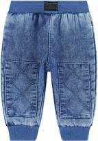 Little Marc Jacobs Imitation jean fleece pants