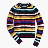 J.Crew Supersoft wool sweater in multistripe