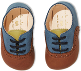 Marie Chantal Brown/Blue Baby Brogues