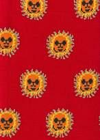 Paul Smith Men's Red Sun Motif Socks