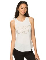 Spiritual Gangster Shine Light Arrow Tank Top