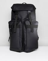 Rains Utility Backpack In Black