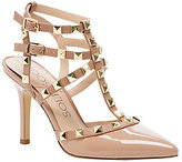 Sole Society Studded T-strap Dress Heels - Tiia