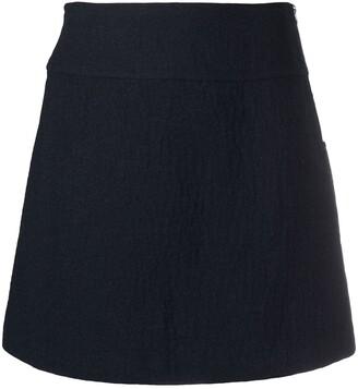 A.P.C. A-line miniskirt