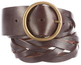 Theory Braided Leather Belt