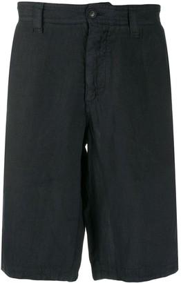 Emporio Armani Linen Bermuda Shorts