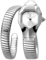 Just Cavalli Womens Ss Watch With Silver Dial.
