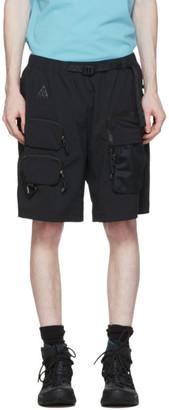 Nike ACG Black Cargo Shorts