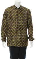 Prada Silk Printed Shirt