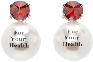 Jiwinaia Red For Your Health Earrings