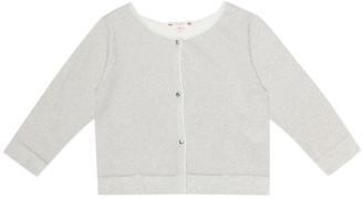 Bonpoint Cotton-blend cardigan