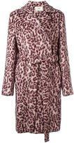Ports 1961 leopard print coat