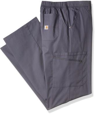 Carhartt Size Rockwall Men's Cargo Scrub Pant Tall