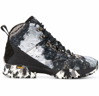 ROA White And Black Andreas Hiking Boots