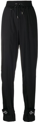 Off-White Nylon Track Pant Black No Color