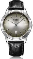 Rotary Watches Rotary Mens Silver Cambridge Watch