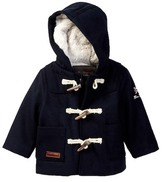 Ben Sherman Faux Fur Lined Duffle Coat (Baby Boys)