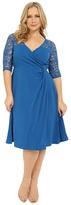 Kiyonna Lavish Lace Dress Women's Dress