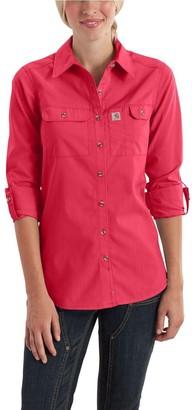 Carhartt Women's Force Ridgefield Shirt