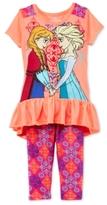 Nannette Disney's® Frozen 2-Pc. Tunic & Capri Leggings Set, Toddler & Little Girls (2T-6X)