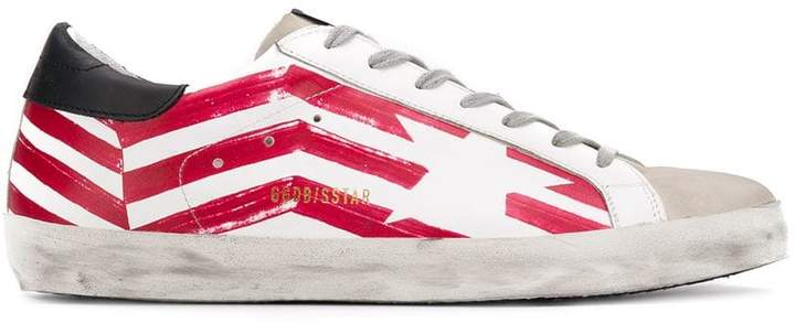Golden Goose Red Flag Superstar sneakers